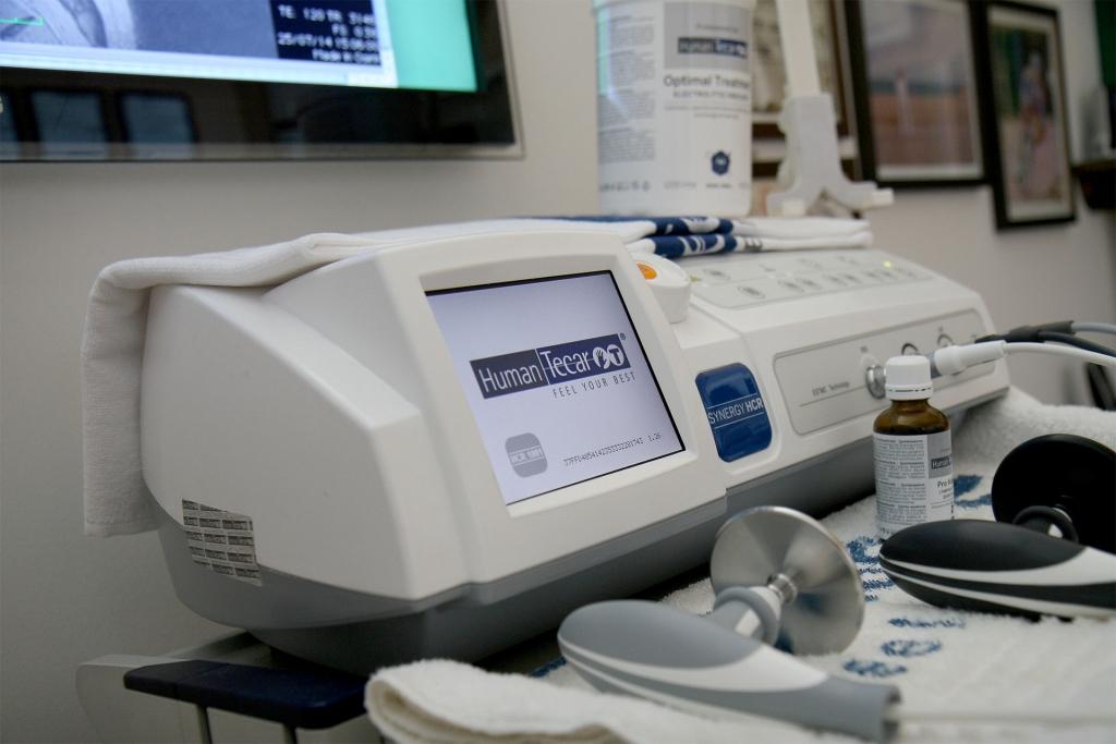 Tecarterapia, strumentazione